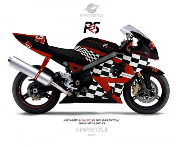 Powerstyle - Motorbike Rennverkleidung - Race4 (MP-STYLE EDITION 2011)
