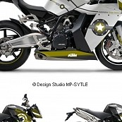 Powerstyle – Startape, motorbike decal set