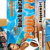 Madbad Europe - Flyer - Pool Party - 30.07.2005