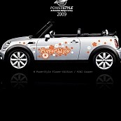 Powerstyle - Auto decal set, Flower-Edition V1